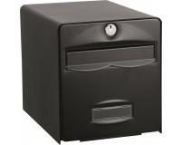Boîte aux lettres normalisée BALthazar 2 portes, Noir