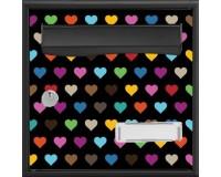 Boîte aux lettres Stylis Coeurs