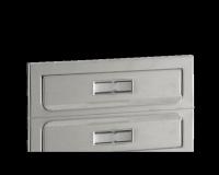 Entrée de courrier Modèle 1 190 cm, Inox