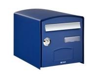 Boîte aux lettres Dome Simple Face, Bleu
