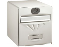 Boîte aux lettres normalisée BALnéaire 2 portes, Blanc