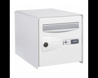 Boîte aux lettres double face Probox, Blanc
