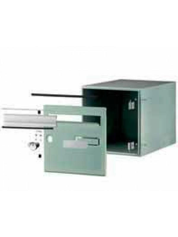 boite aux lettres encastrable sp cial portails d cobox simple face 121610 boxyneo. Black Bedroom Furniture Sets. Home Design Ideas